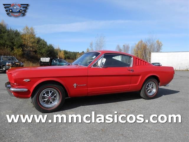 Ford Mustang Fastback 1966 V8  Manual Muscle Car